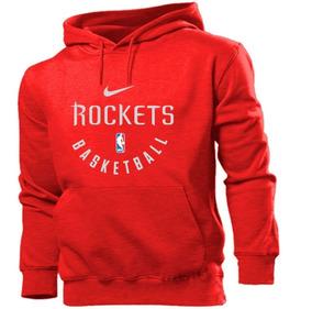 Blusa Moleton Casaco Houston Rockets Basquete Estampado