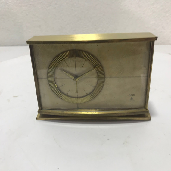 Raro Y Hermoso Reloj Elgin Alemán Vintage 8 Dias 7 Jewels