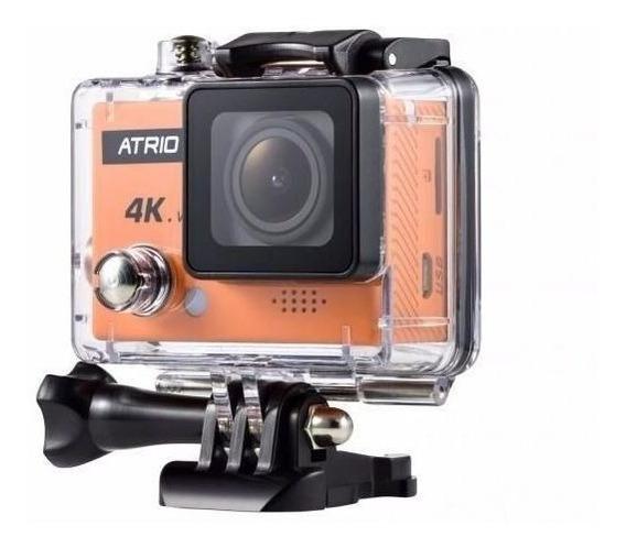 Câmera De Ação Atrio Fullsport 4k Tela Lcd Usb Sd Wifi