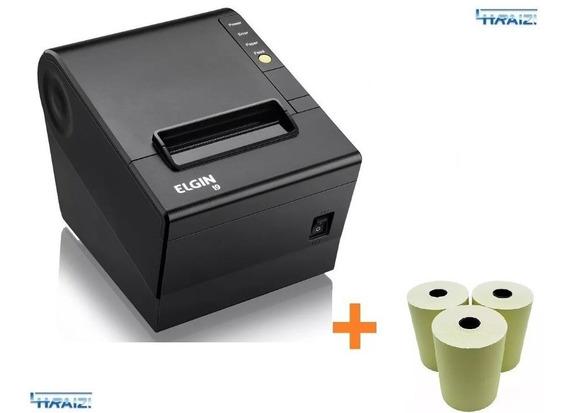 Impressora Termica Nao Fiscal I9 Usb Elgin Gar.3a + 3 Bobina