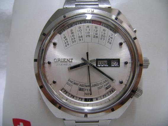 Reloj Orient Original Calendario Perpetuo Vintage Omega