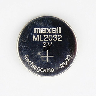 Batería Cmos De Litio Recargable 3 Voltios Maxell Ml2032