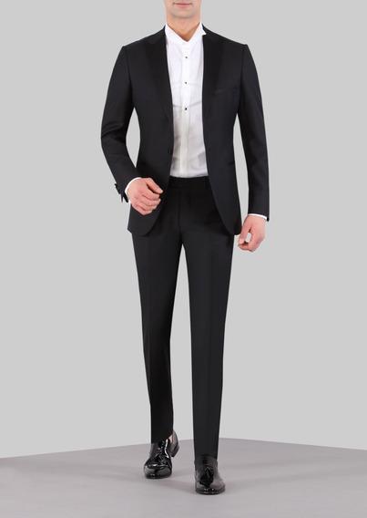Terno Smoking Masculino Dynamic Slim Fit 100% Pura Lã