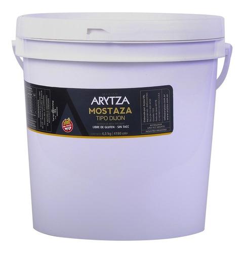Mostaza Gourmet Arytza Tipo Dijón 4,5kg - Uso Gastronómico
