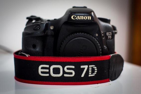 Canon Eos 7d No Estado Baixei Pra Vender!!