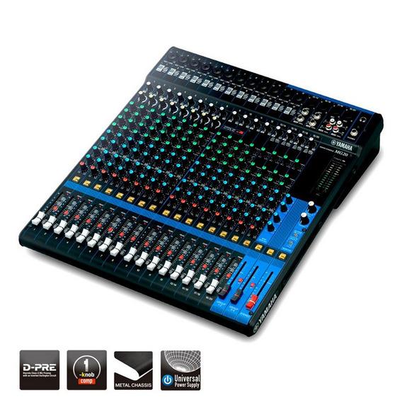 Mesa De Som Yamaha Mg20 Standard 20 Canais + 1 Ano De Garantia + Nota Fiscal + Frete Grátis