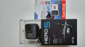 Gopro Hero 5 Black + Sandisk Extreme 32gb