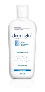 Dermaglos Leche De Limpieza Facial Piel Sensible 200ml