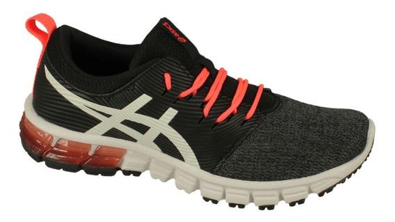 Zapatillas Asics Mujer Gel Quantum 90 Sg Negra Coral Running