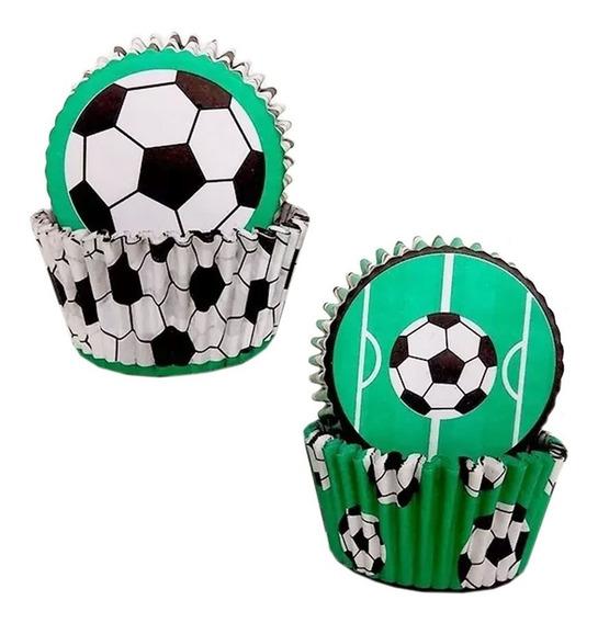 Pirotines Linea Fútbol Cupcakes Muffins 4 Packs - Cc
