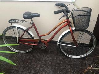 Bicicleta Con Canasto Rodado 26
