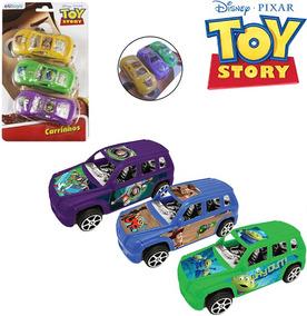 Carro A Friccao Com 3 Pecas Na Cartela Toy Story