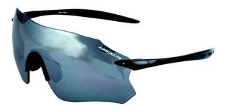 Óculos Ciclismo Absolute Prime Sl Preto Uv400 Fumê Bike Mtb