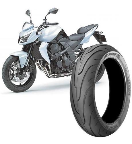 Imagem 1 de 4 de Pneu Moto Kawasaki Z750 180/55-17 73v Traseiro Stroker