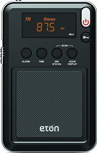 Radio Eton Mini Compact Am / Fm / Shortwave, Negra