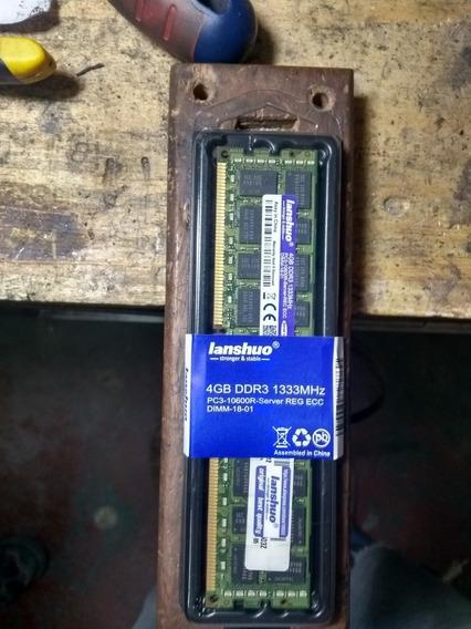 Memoria Ram Server 4gb 1333mhz Ddr3 (8gb Total)