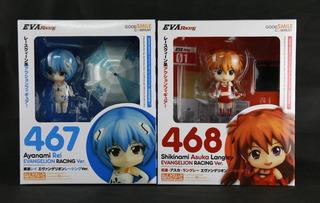 Figura Nendoroid Evangelion Rei Langley Good Smile 467 468
