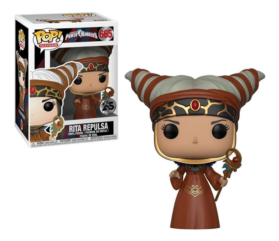 Funko Pop - Rita Repulsa - N° 665 - Power Rangers