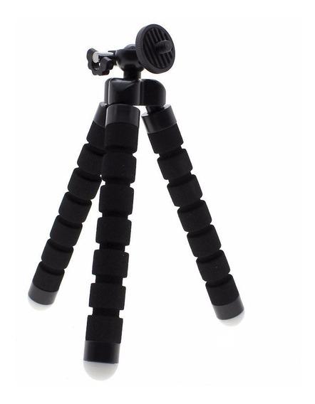 Mini Tripé Flexível Para Câmera E Flash Canon Nikon Sony