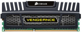 Memória Ddr3 8gb 1600mhz Corsair Vengeance Black Intel/amd