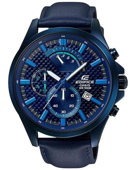 Relógio Masculino Casio Edifice Efv 530bl 2avudf - Azul
