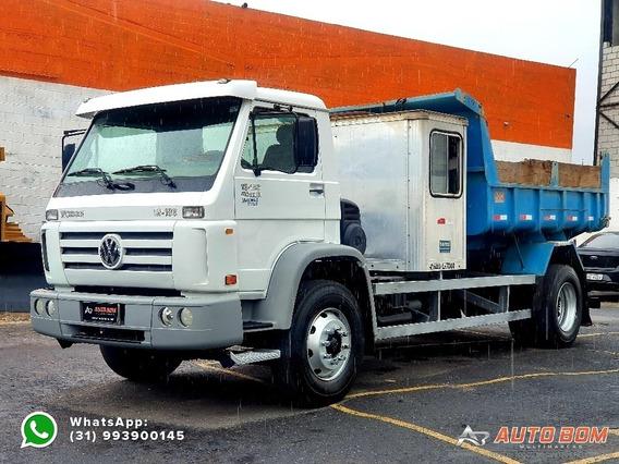 Vw 13180 Worker Toco Báscula Com Cabine Auxiliar 2011 2012