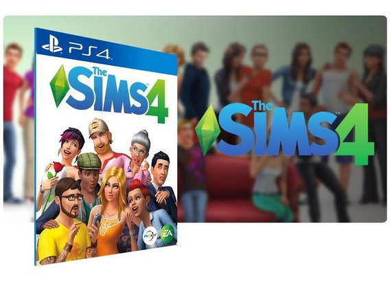 The Sims 4 Ps4 Mídia Digital 1 Primária Promoção Envio Hoje!