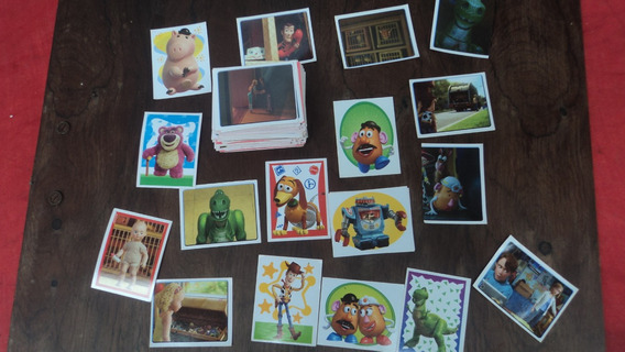 Raro Lote De 185figurinhas Do Álbum Toy Story 3 Ed. Abril