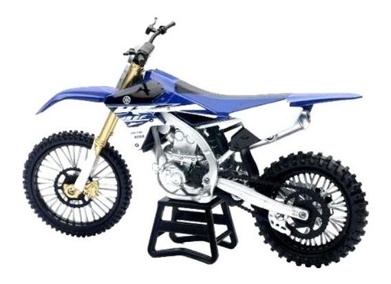 Moto Yamaha Yz 450 F Motocross Cross Escala 1:12 New Ray