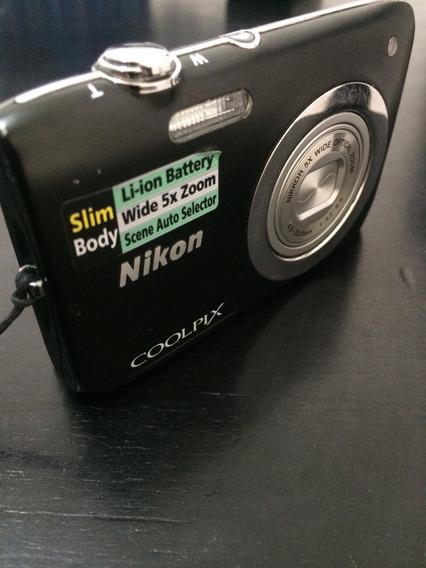 Nikon Coolpix 720p (usada) S2600/4gb Mem R$130