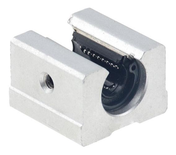 Kit 8 X Rolamento Pillow Block Aberto 20mm - Sbr20uu