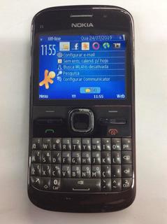 Celular Nokia E5-00 Desbloqueado Todas Operadoras Anatel