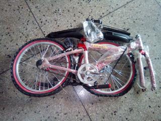 Bicicleta De Niño Niña Rin 20