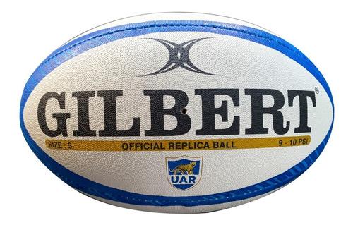 Pelota De Rugby Gilbert N°5 Uar Argentina Animal Print Pumas
