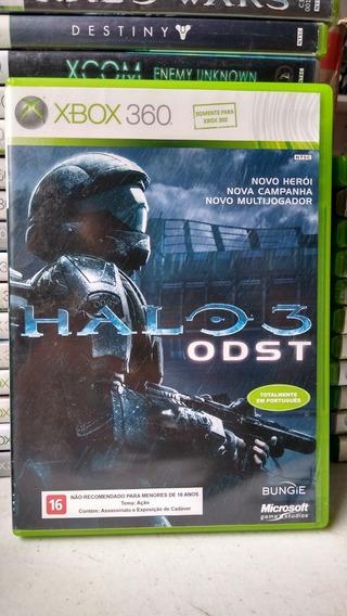 Halo 3 Odst Mídia Física Xbox 360