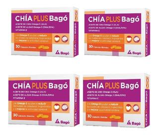 Bago Chia Plus Omega3 Colesterol Pack X 120 Caps (oferta)