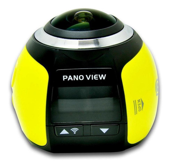 Filmadora Camera 360º Graus 3d Vr Fullhd Panorâmica Wifi 4k