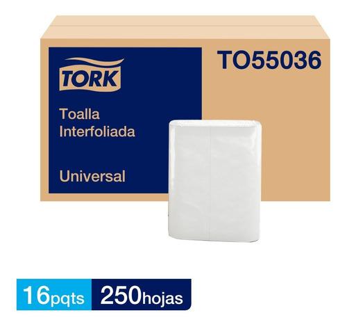 Toalla Interfoliada Tork  Xpress® Universal 16 Pqts 250 Hoja