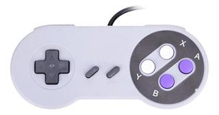 Mando Gamepad Usb Super Nintendo Snes Clasico Pc Retropie