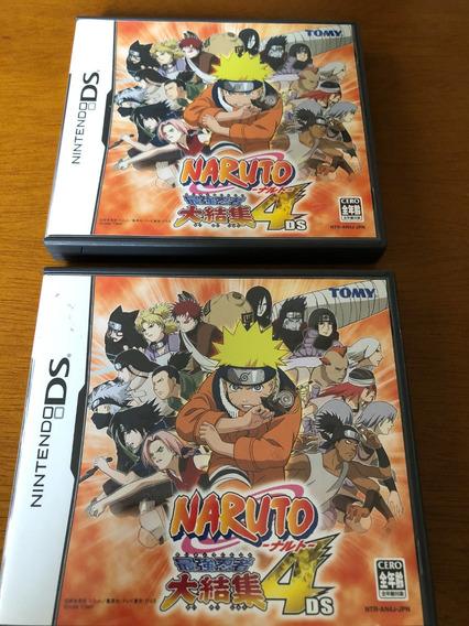 Jogo Nintendo Ds Naruto 4 Original Japonês
