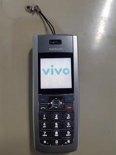 Celular Nokia 6235 Operadora Vivo Sem Acessórios