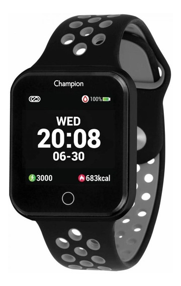 Relógio Champion Smartwatch Ch50006d Preto