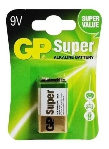 Pilas  Baterias 9 Voltios Super Alcalinas Marca Gp