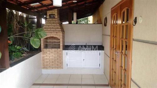 Imagem 1 de 15 de Maria Paula - Casa Em Condomínio - Sala, 02 Quartos, Cozinha, Área Com Churrasqueira E 1 Vaga. - Ca0505