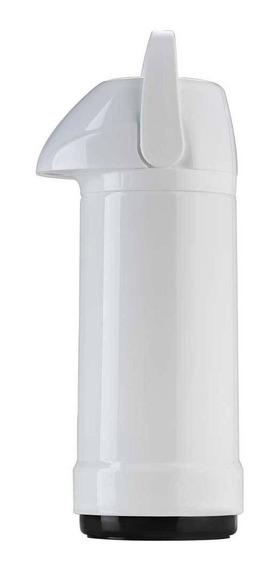 Garrafa Térmica Glt Pressão 1 Litro Invicta - Branca.