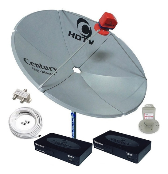 Antena Parabolica Digimaste Century Hd Digital 2 Midiabox B3