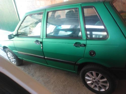 Fiat Uno 95 Cor Verde