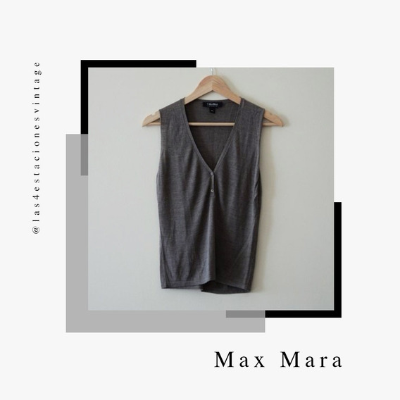 Chaleco / Remera Max Mara