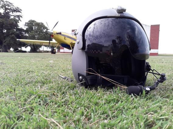 Casco Piloto Marca Gentex Modelo Hgu 33