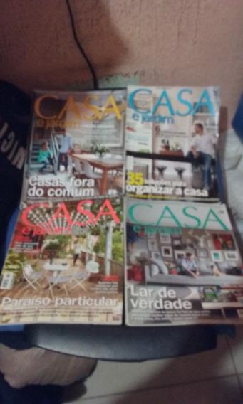 Revista Casa E Jardim 06 Unidades Em Oferta 30 Reais
